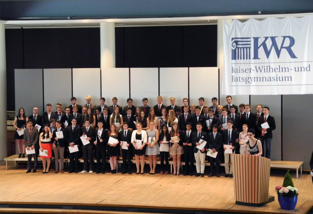 Abiturentlassung 2014