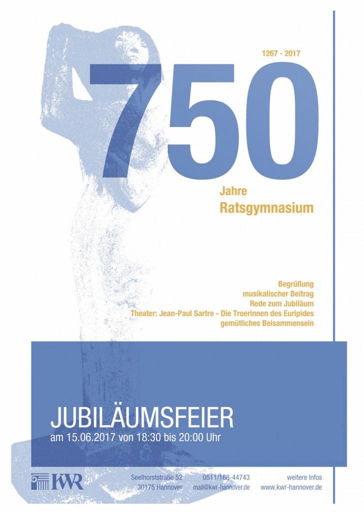 Einladung Jubiläum Ratsgymnasium